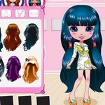 Dress up hair games